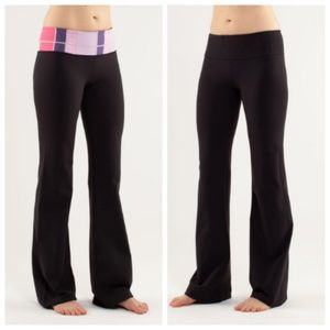 Lululemon Groove Pants Lunon Reversible Size 6